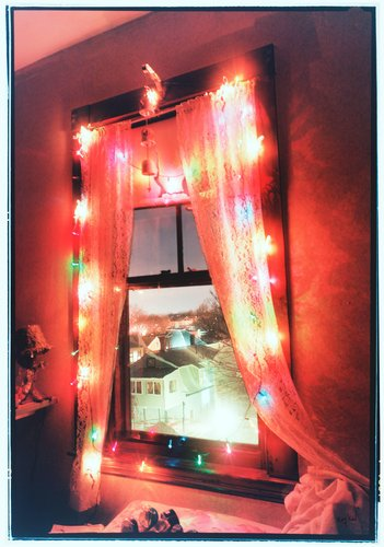 Christmas Window, Somerville, Massachusetts, 1989