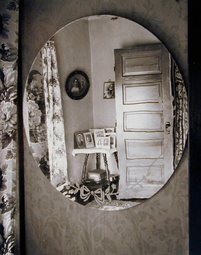 Reflection in Oval Mirror, Home Place