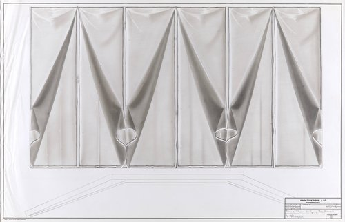 Third floor drapery treatment, I. Magnin
