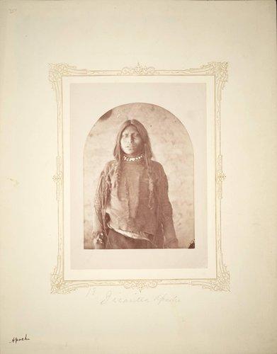 Delegation Photograph (18. Jicarilla Apache) Vignetted