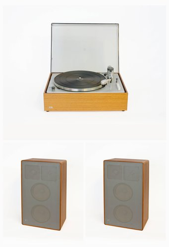 Braun PS 600 phonograph and L 810 speakers