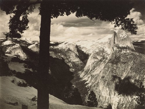 From Glacier Point, from the portfolio Parmelian Prints of the High Sierras