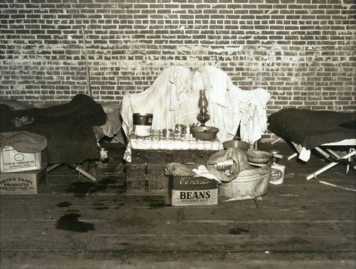 Belongings of a Flood Refugee, Forrest City, Arkansas, February 1937