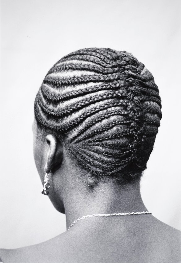 image of 'Untitled, from the series Les Tresses du Mali (Hairstyles of Mali)'
