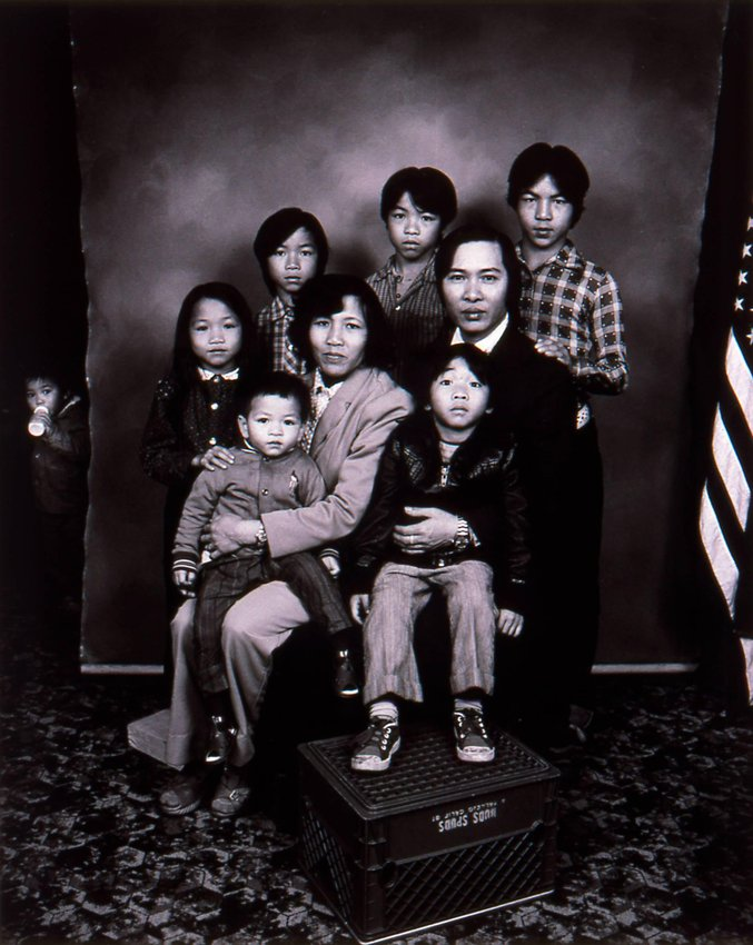 image of 'Refugees from Asia, San Francisco, California, from the series American Portraits'