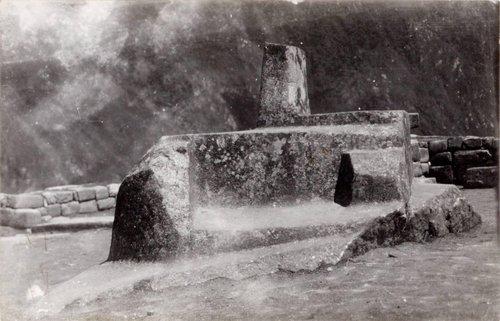 El Inti-huatana (Reloj Solar) Machu Picchu