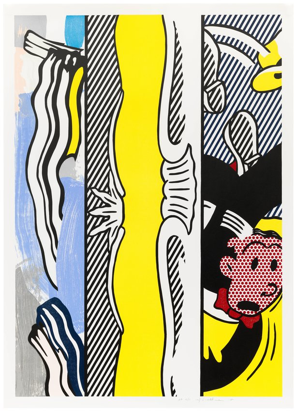 """image of Two Paintings: Dagwood, from the series """"Paintings"""""""