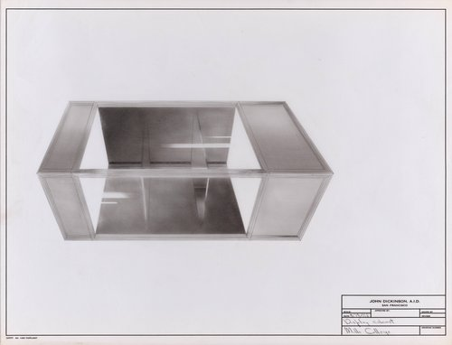 Display cabinet, Mills College
