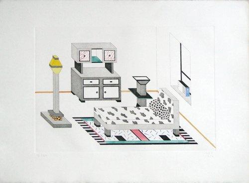 Room with Radio