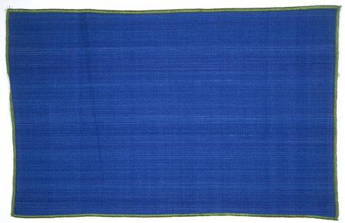 Mexicotton Place Mat [Blue with Green Border]