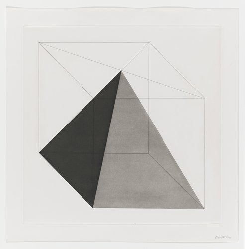 Forms Derived from a Cube, Plate #09