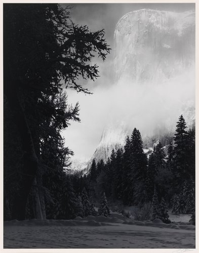 El Capitan, Early Morning, Winter, Yosemite Valley