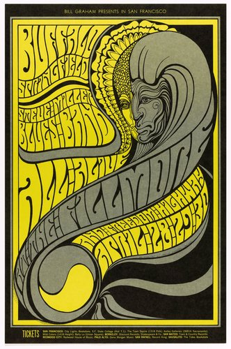 Buffalo Springfield, Steve Miller Blues Band; Fillmore Auditorium, April 28-30, 1967