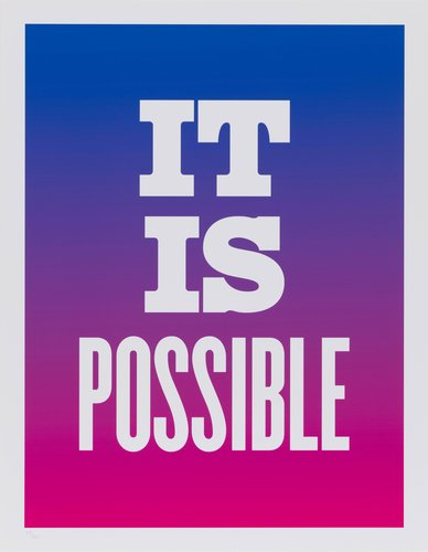 It Is Possible, from the series Advice from my 80 Year-Old-Self