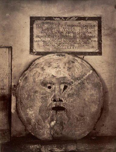 Sculpture Study: La Bocca della Verità, Rome (The Mouth of Truth, Rome)