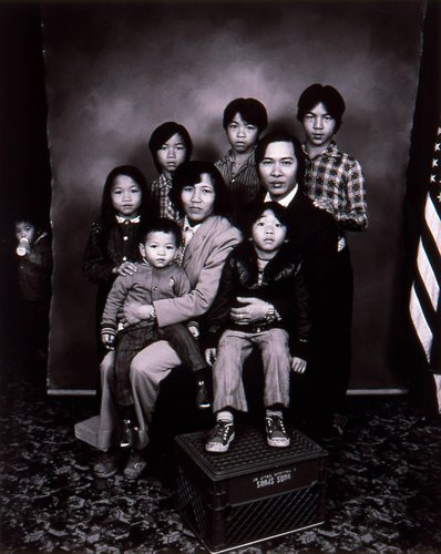 Refugees from Asia, San Francisco, California, from the series American Portraits