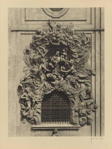 O. Mosto: Relief sv. Františka z Assisi z roku 1695 (Relief of St. Francis of Assisi from 1695, from the portfolio Jakubský Cyklus)