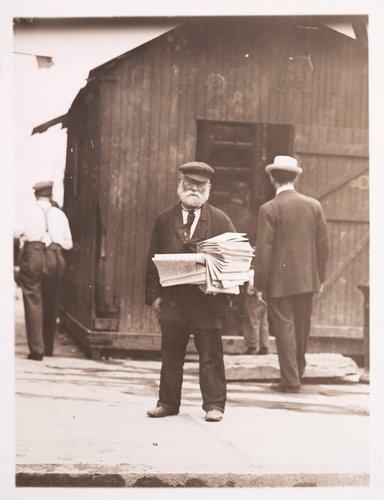 Old Paperman, East Side