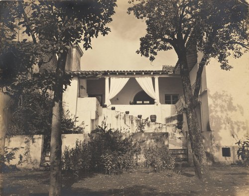"Untitled [""Mexican house""]"