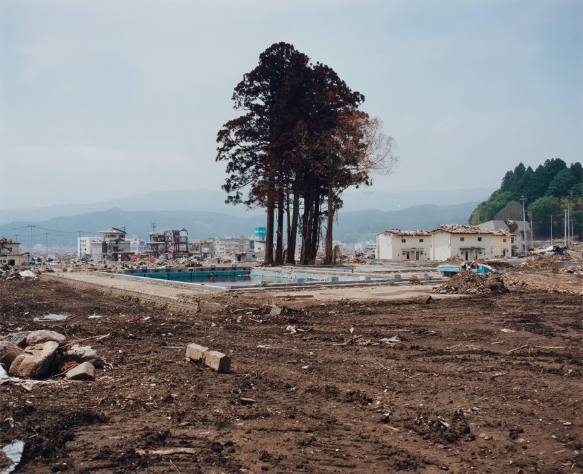 image of Takata-cho, 2011.6.12, from the series Rikuzentakata