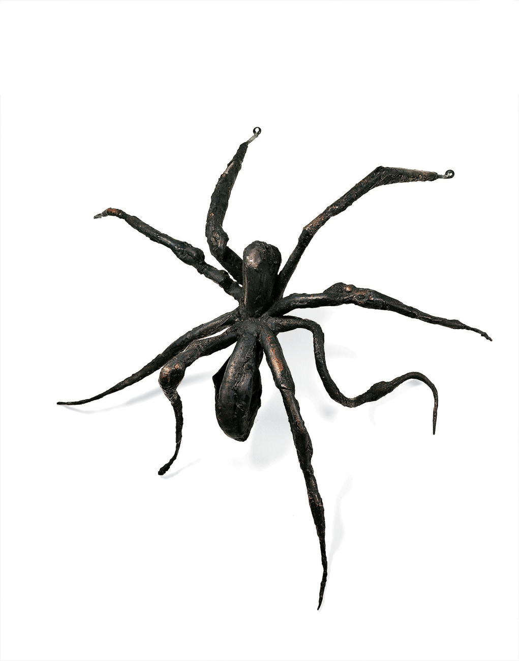 A cast metal spider