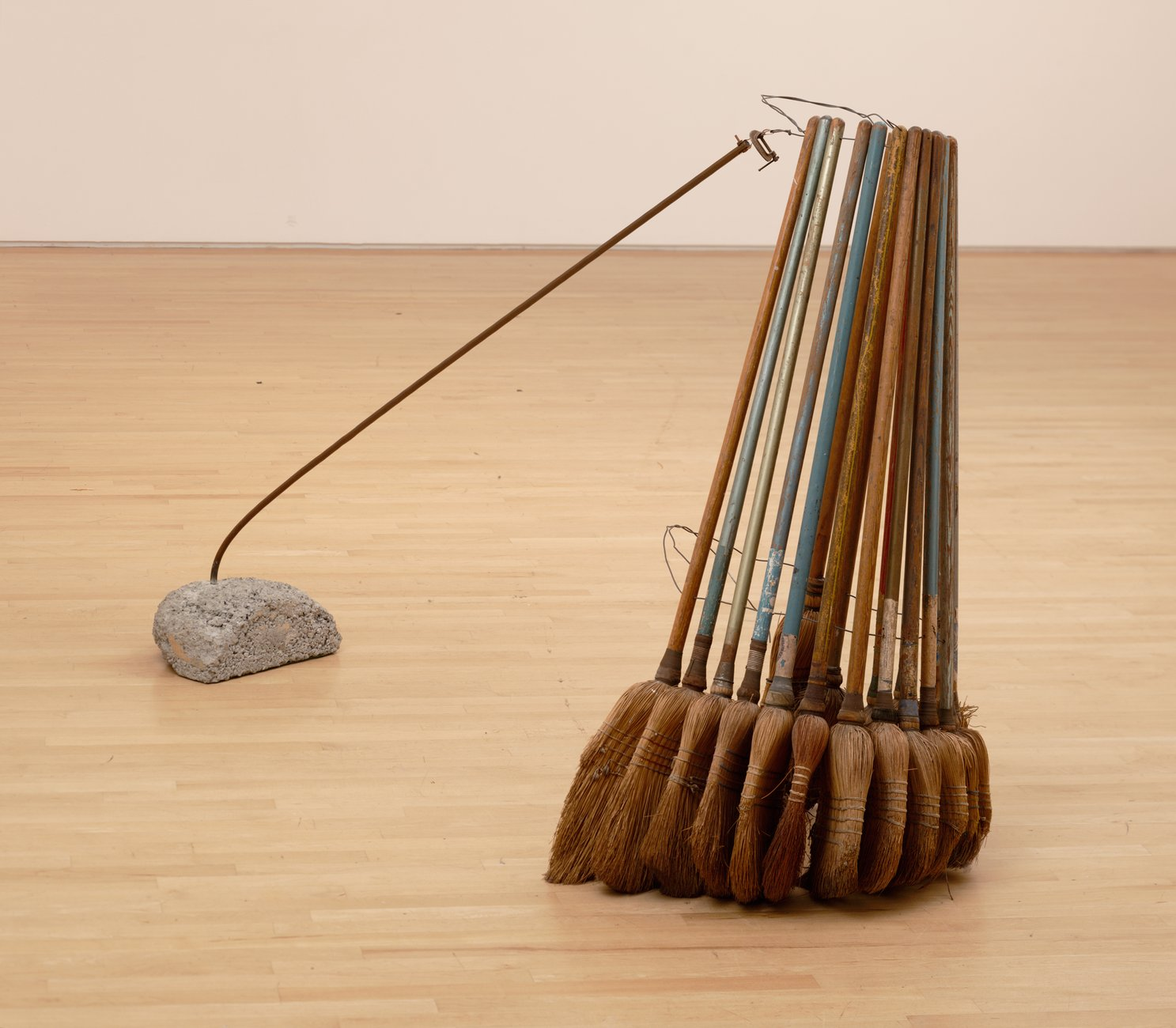 Artwork image, David Ireland's Broom Collection with Boom