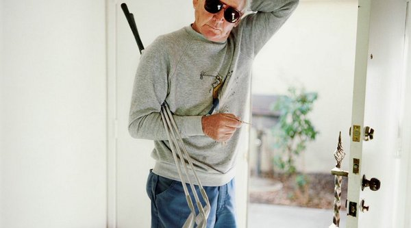 Artwork image, Larry Sultan, Dad with Golf Clubs