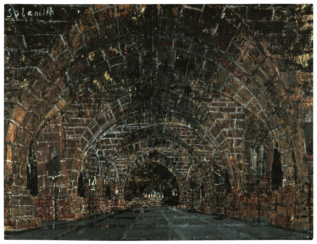 Artwork image, Anselm Kiefer, Sulamith