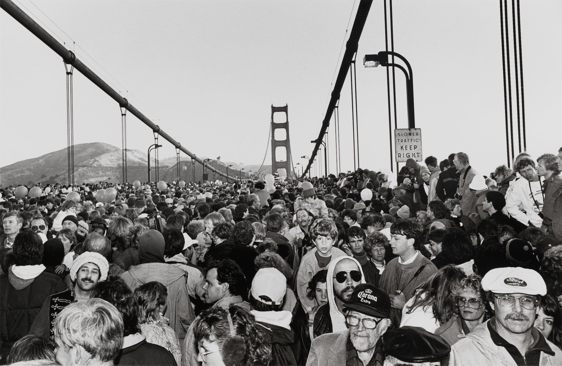 Artwork image, Michael Jang's Golden Gate Bridge Fiftieth Anniversary