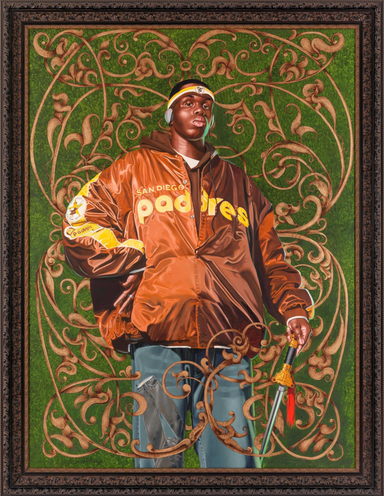 Artwork image, ​Kehinde Wiley, Alexander the Great