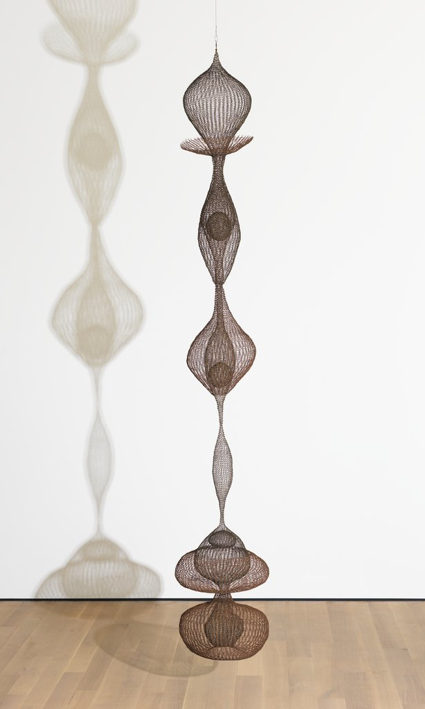 Artwork image, Ruth Asawa Untitled 1958