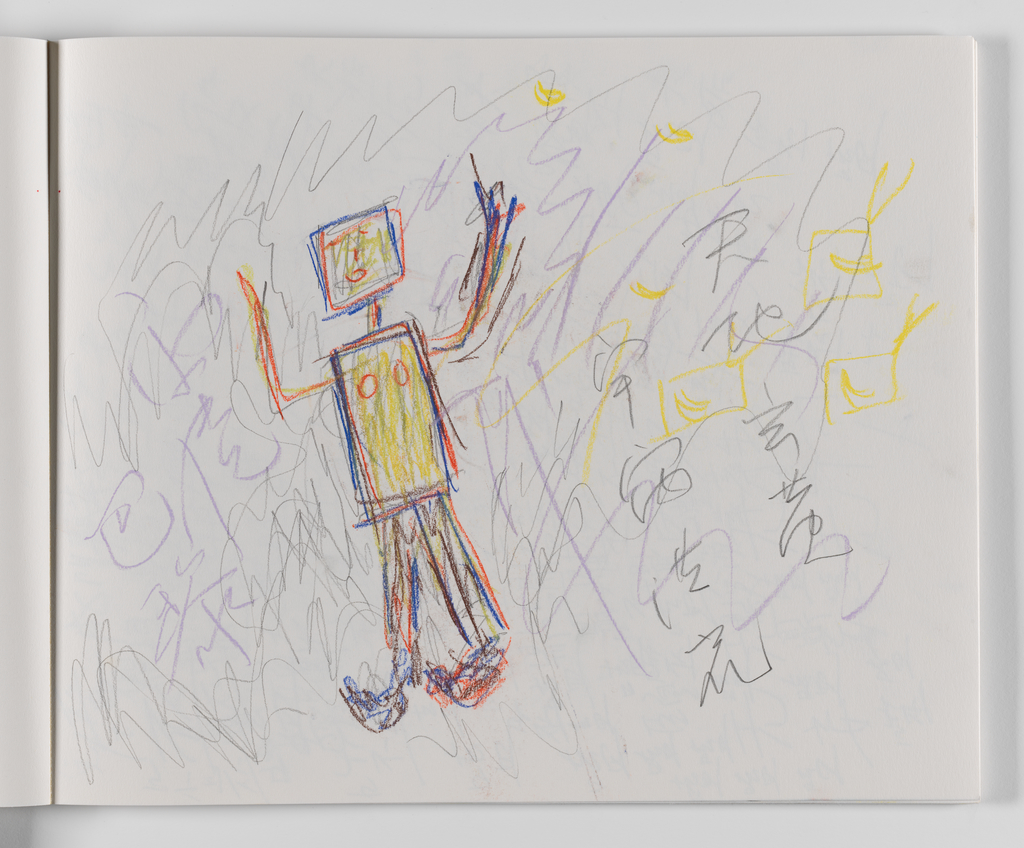 Nam June Paik, A Drawing Notebook, 1996 page 22