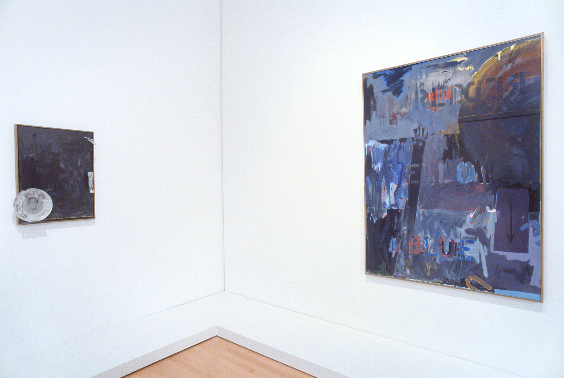 Two works by Jasper Johns