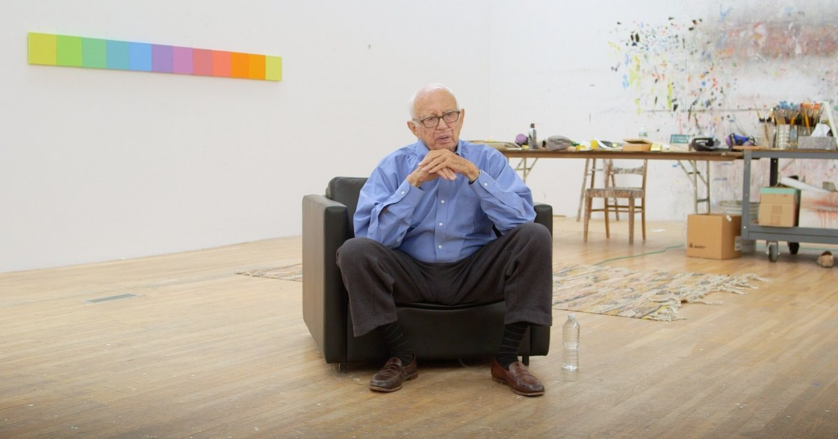 Ellsworth Kelly explains abstraction