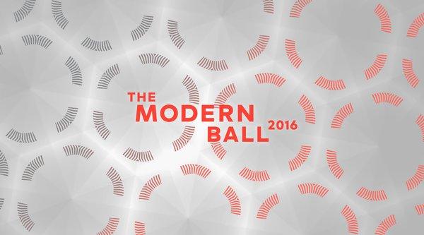 The Modern Ball logo