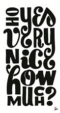 "Parra, ""very nice how much"" black text"