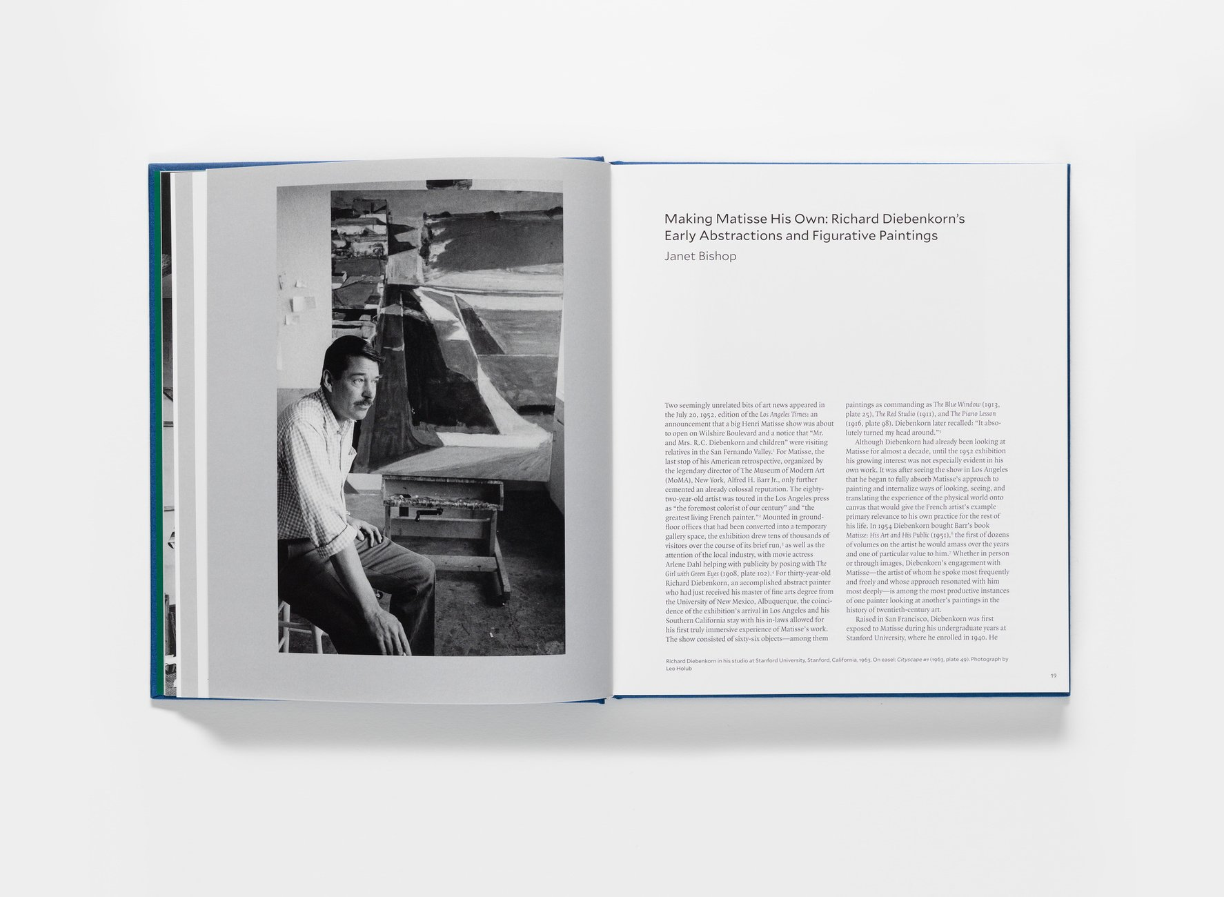 Matisse/Diebenkorn publication pages 18-19