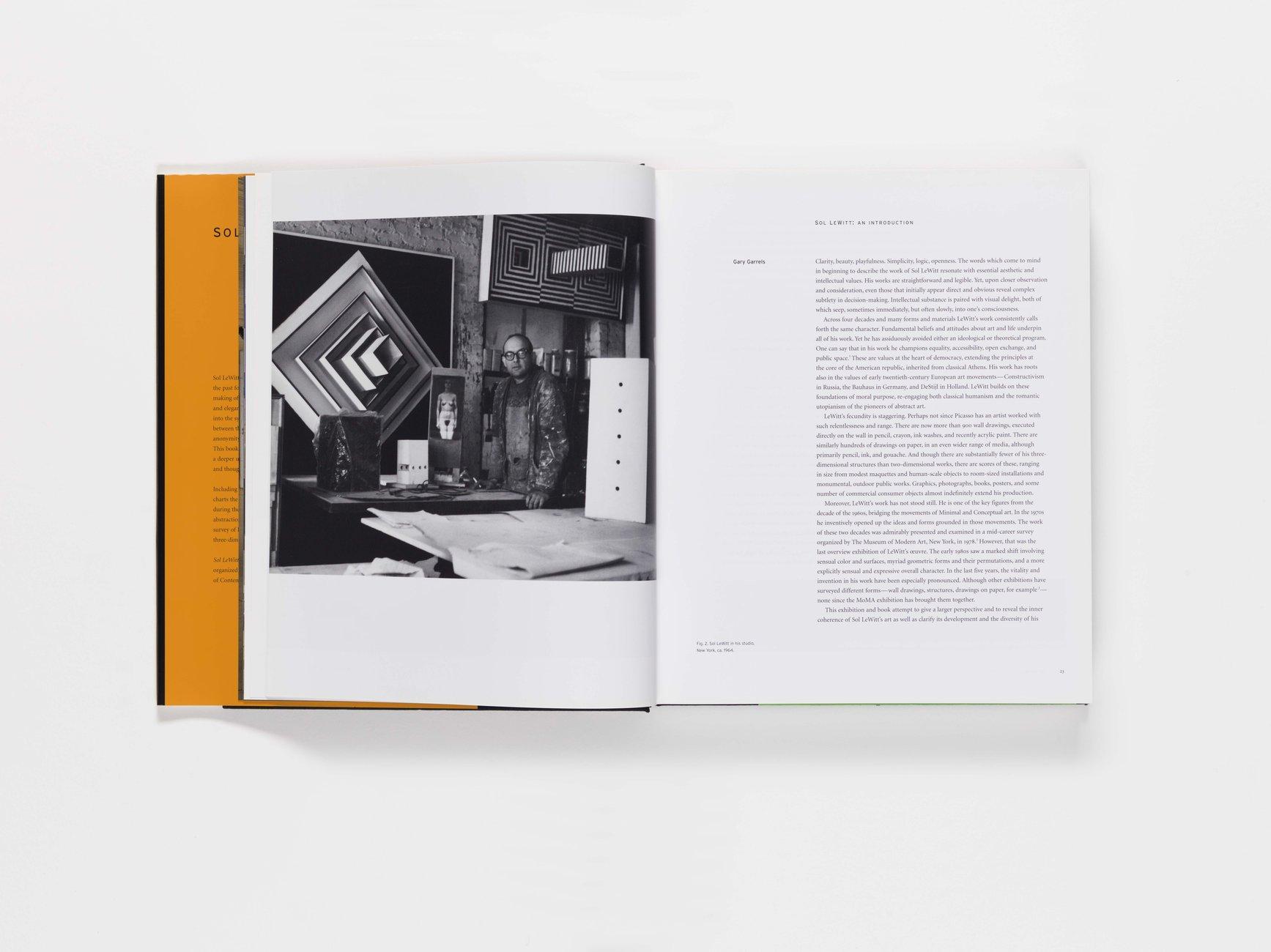Sol LeWitt publication pages 22-23