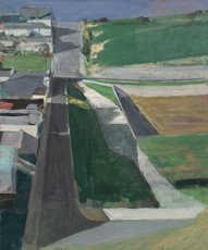 Diebenkorn cityscape painting
