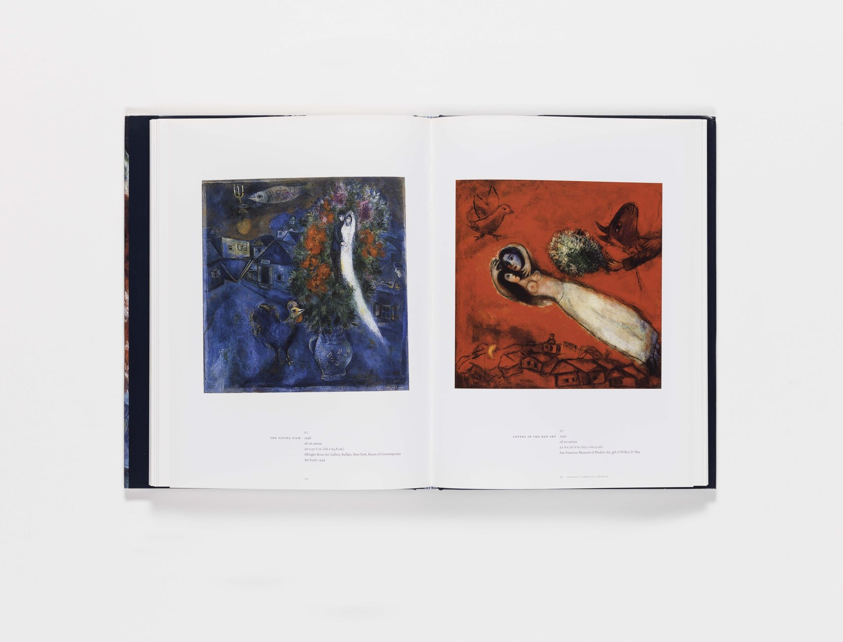 Marc Chagall publication pages 160-161