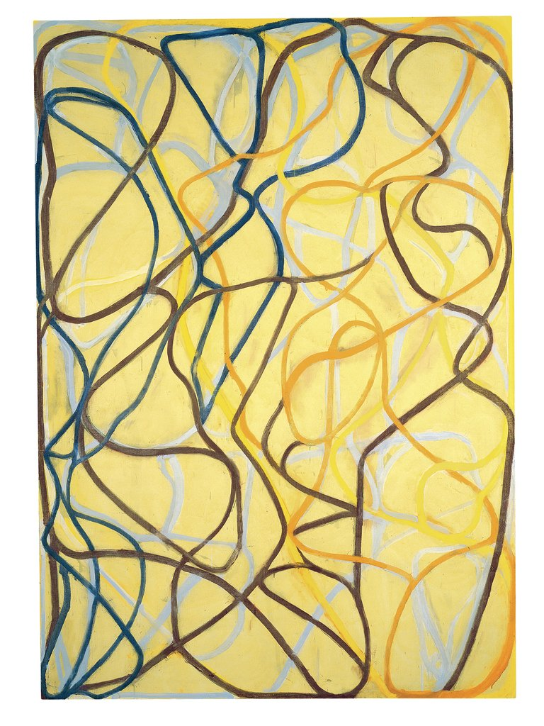 Artwork image, Brice Marden, The Sisters