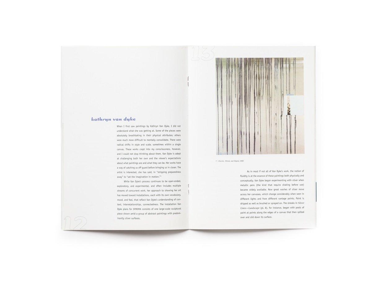 2000 SECA Art Award publication pages 12-13