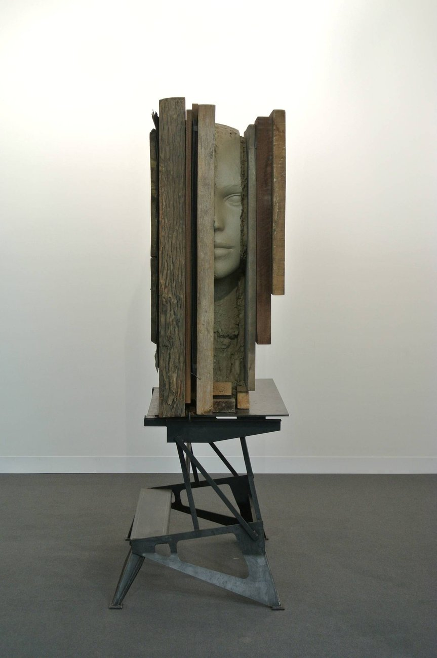 Artwork image, ​Mark Manders, Big Female Head