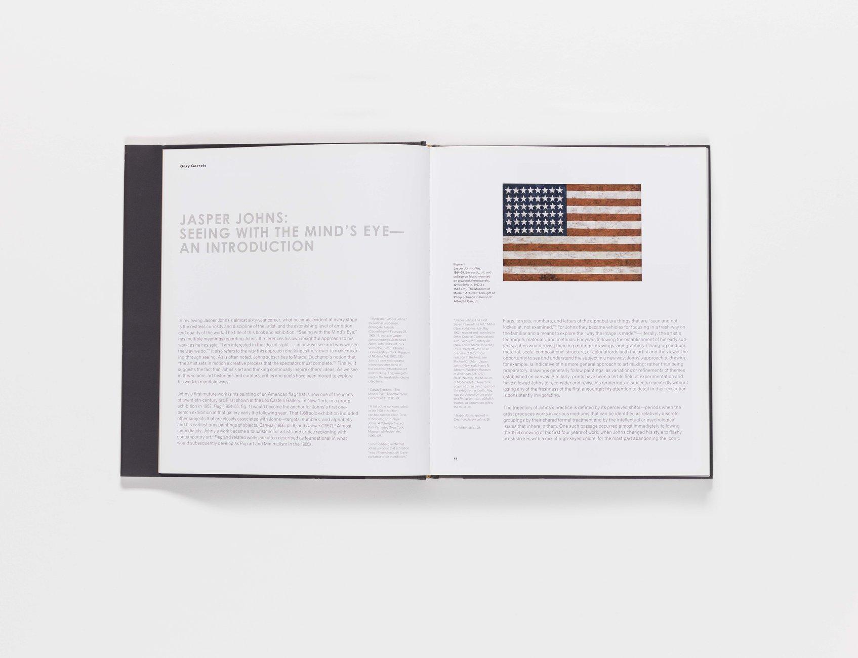 Jasper Johns publication pages 12-13