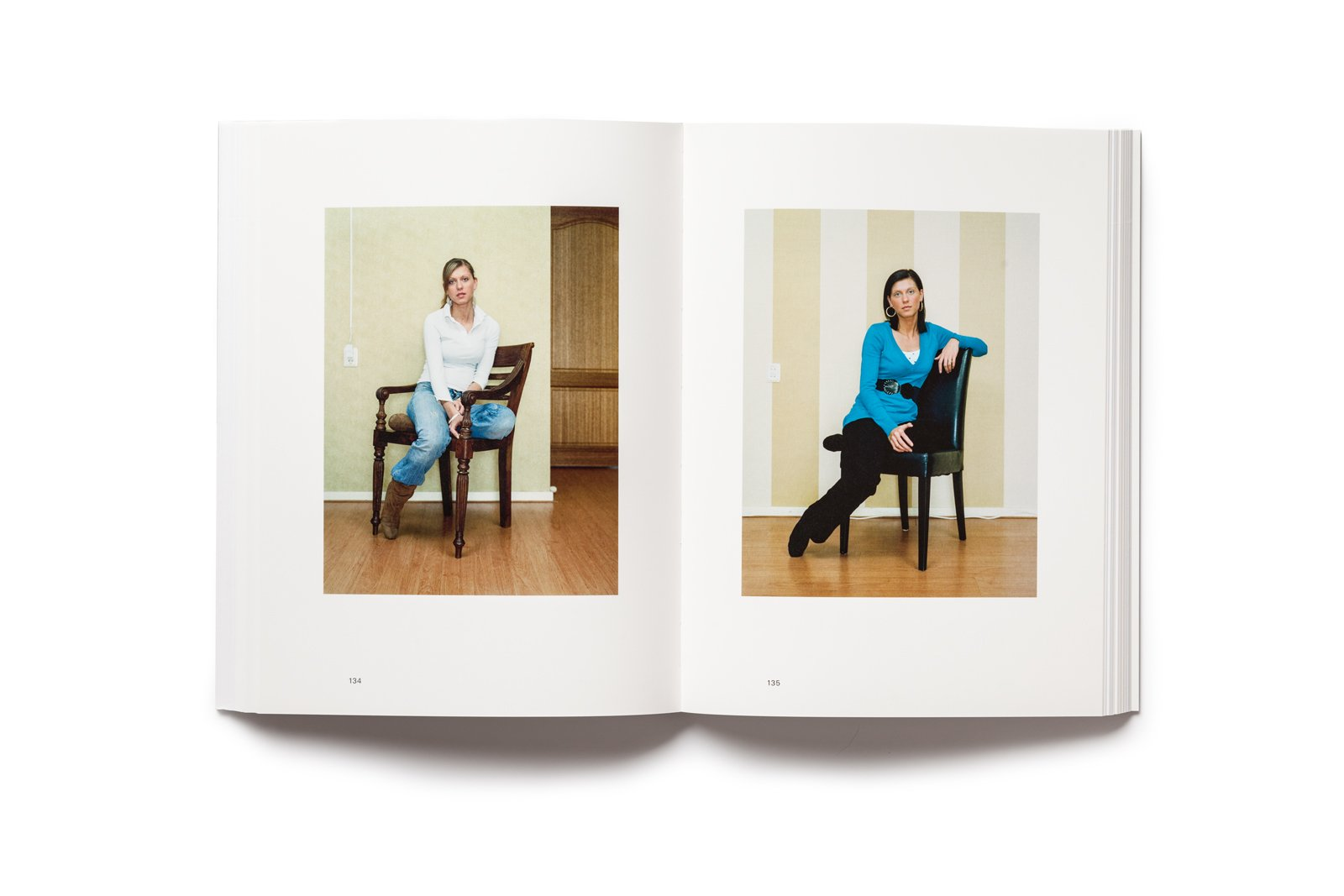 Rineke Dijkstra publication pages 134-145