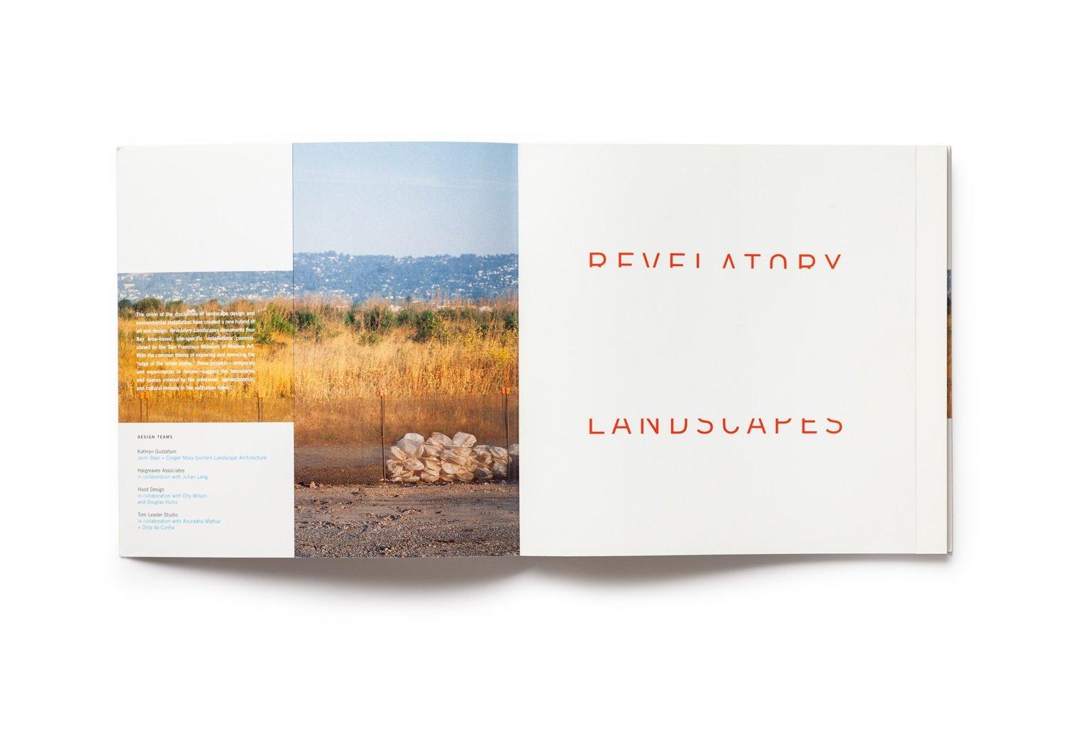 Revelatory Landscapes publication front endsheet