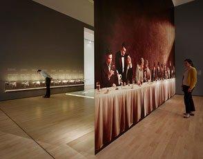 gallery shot, wine + design installation