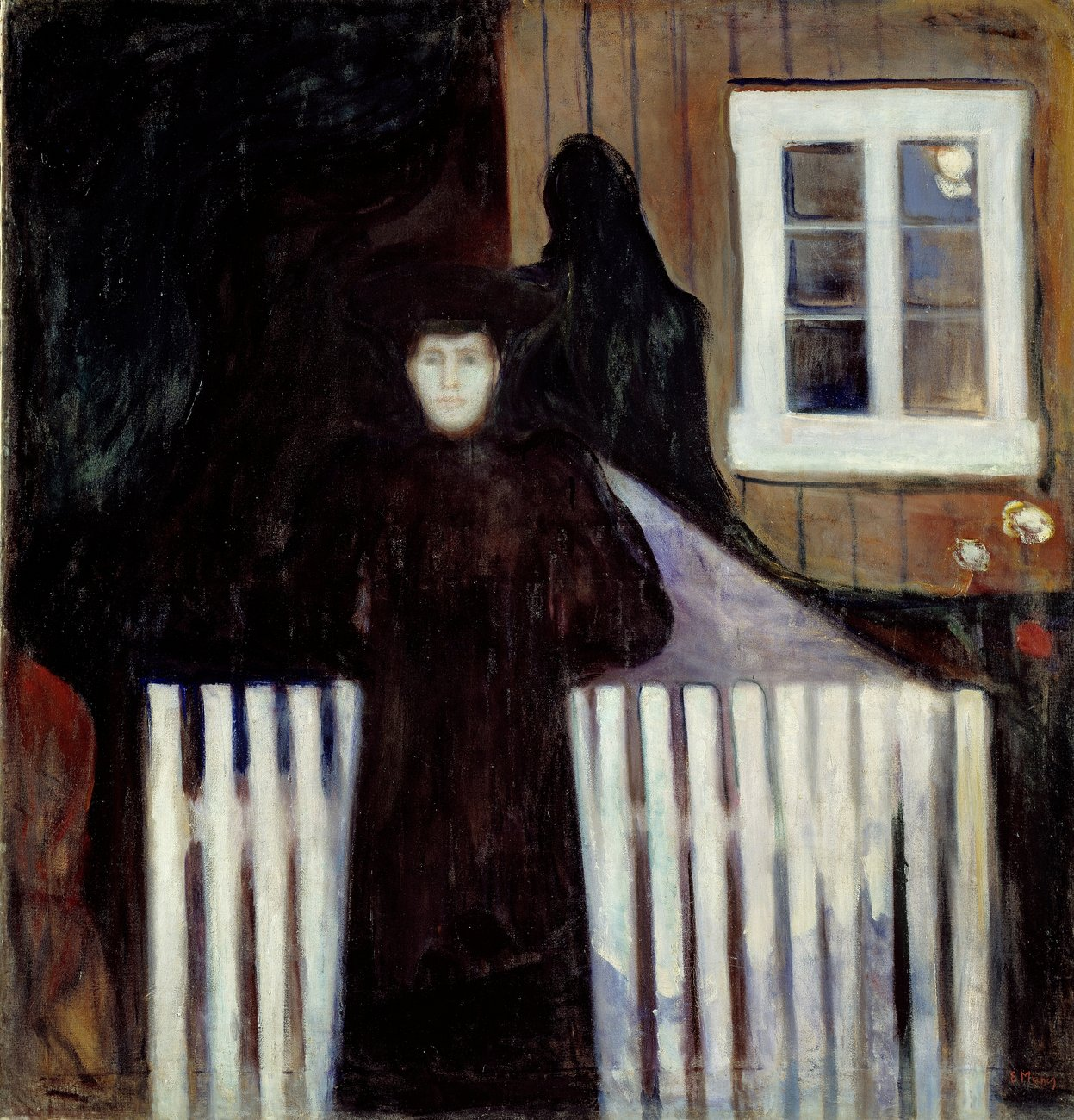 Artwork image, ​Edvard Munch, Måneskinn (Moonlight)