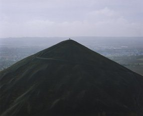 A color photograph of a hill, Hatakeyama