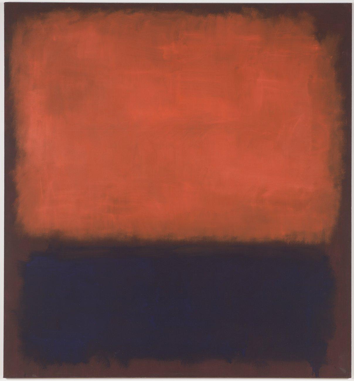 Artwork image, Mark Rothko's No. 14, 1960, 1960